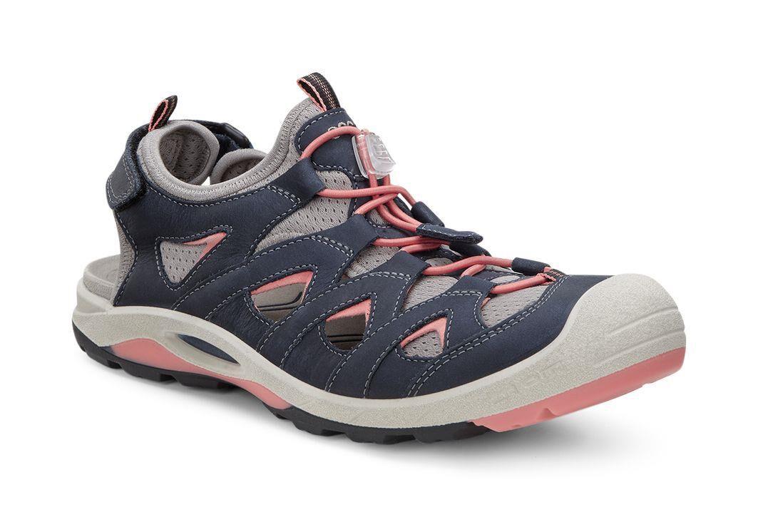 Mens Offroad Open Toe Sandals, Brown Ecco