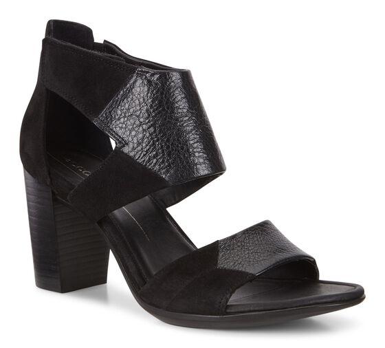 ECCO Shape 65 Block Ankle S (BLACK/BLACK)