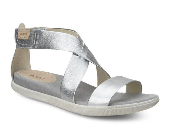 ECCO Damara Strap Sandal (ALUSILVER)