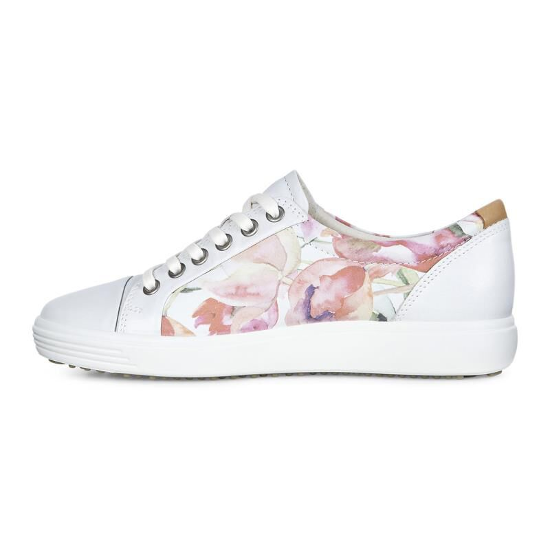 ECCO Soft 7 Floral Print Sneakers FqB4Ol10cY