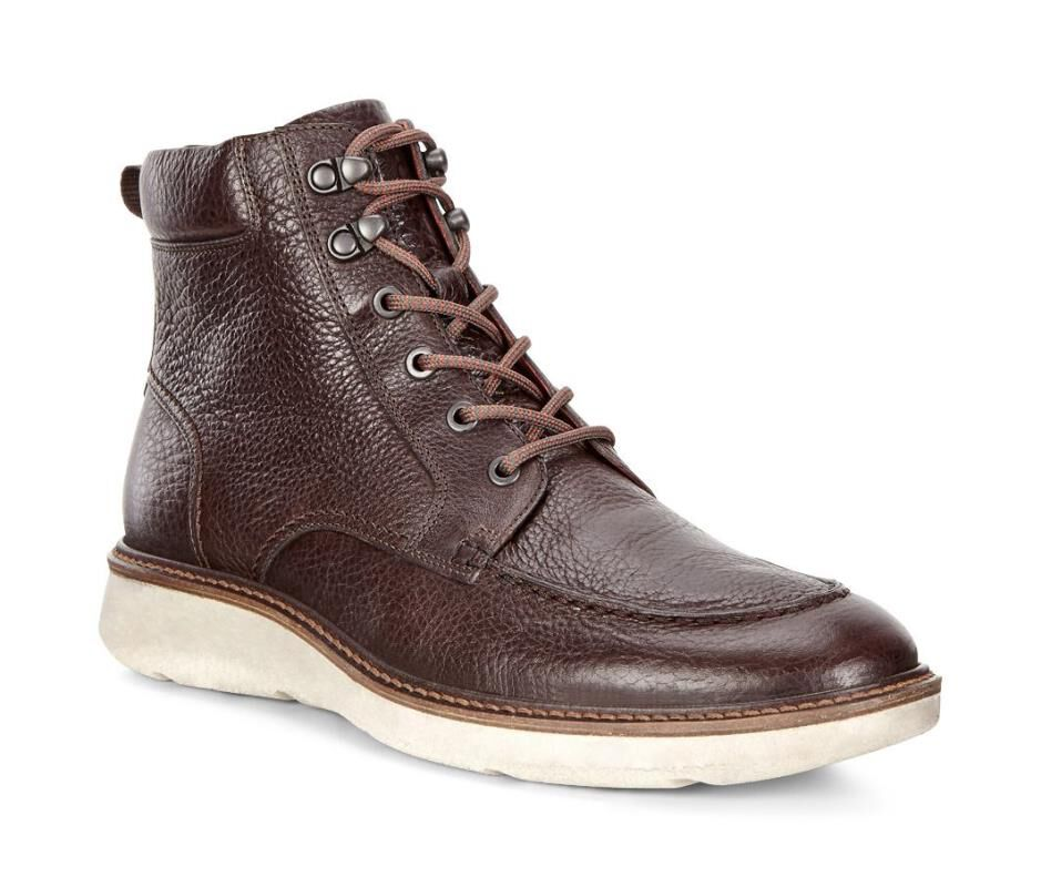 Womens Coffee Boots Prop
