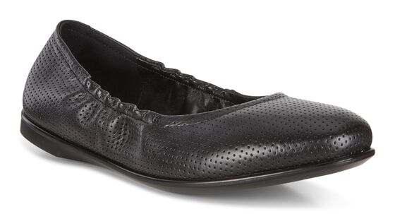 ECCO Incise Enchant Ballerina (BLACK)