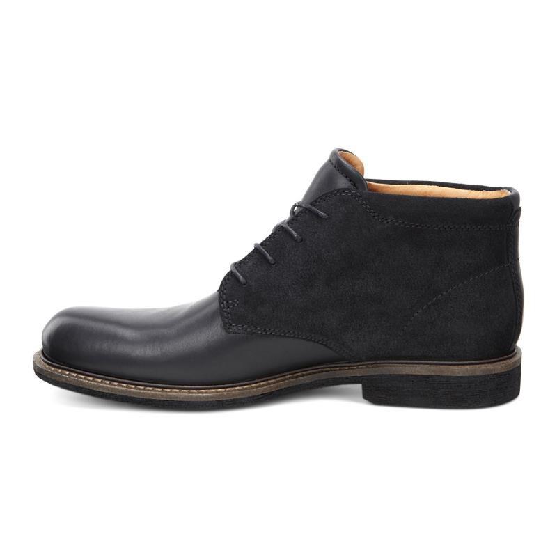 ... ECCO Findlay Chukka BootECCO Findlay Chukka Boot BLACK/BLACK (51707) ...