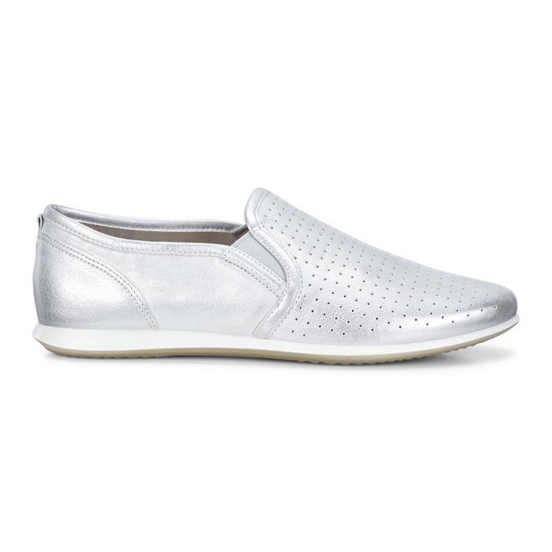 ... ECCO Touch Sneaker Slip OnECCO Touch Sneaker Slip On SILVER METALLIC  (01097) ...