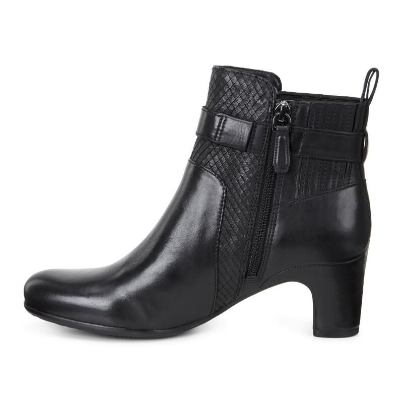 Womens Boots ECCO Alliston Bootie Black/Black