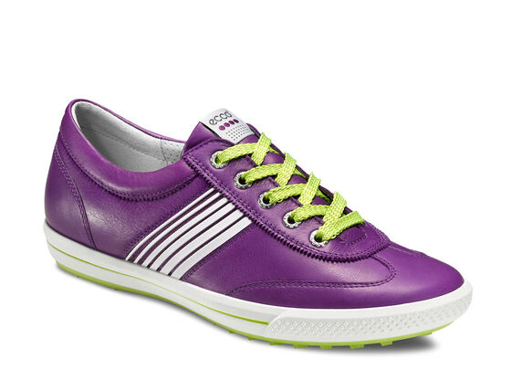 ECCO Womens Street Sport (IMPERIAL PURPLE/LIME PUNCH)