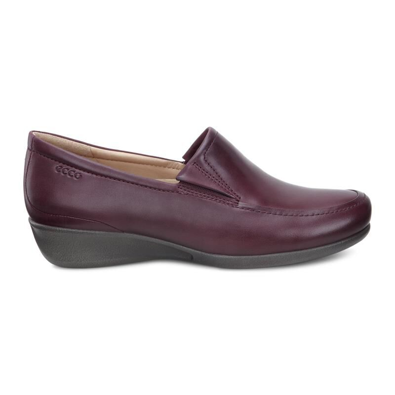 Womens Shoes ECCO Abelone Slip On Bordeaux