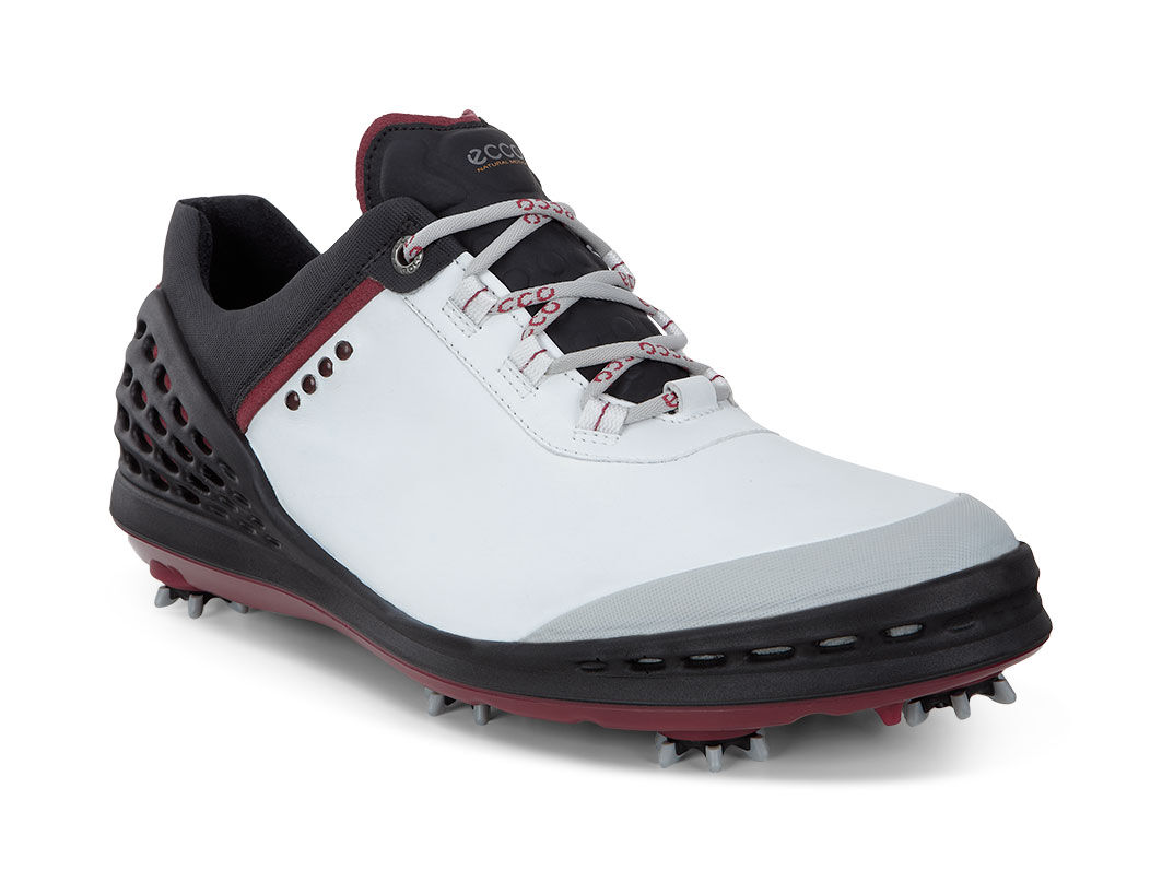 Ecco Golf cage golf shoes, White