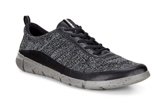 ECCO Mens Intrinsic Knit (BLACK/CONCRETE)