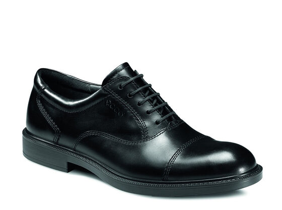 ECCO Atlanta Cap Toe Tie (BLACK)