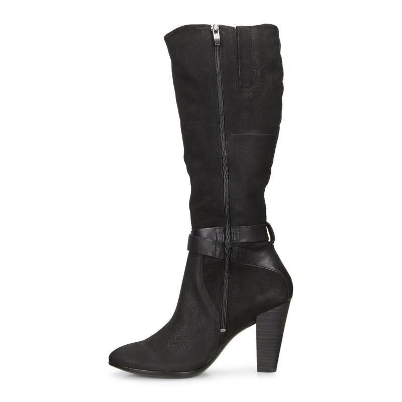 ... ECCO Shape 75 Tall BootECCO Shape 75 Tall Boot BLACK/BLACK (53859) ...