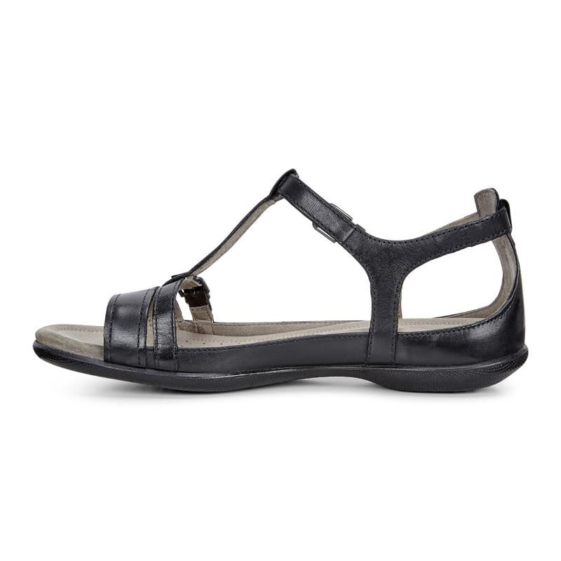 Womens Sandals ECCO Flash T-Strap Sandal Black