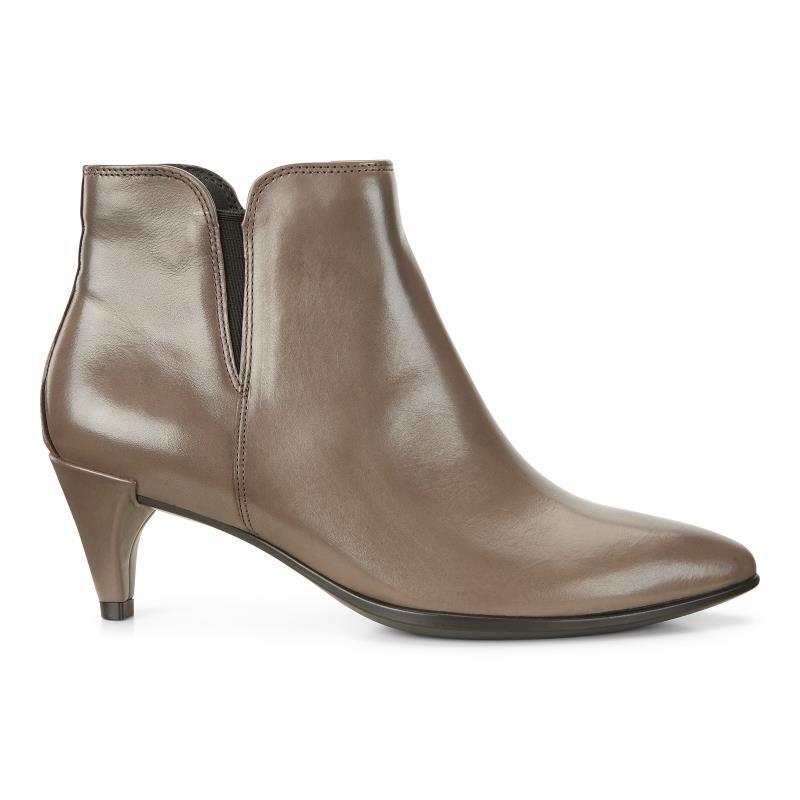 ECCO Women's Women's Shape 45 Sleek Ankle Bootie, Stone, 40 EU/9-9.5 US