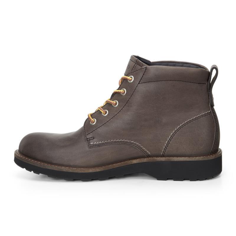 Mens Boots ECCO Holbrok Plain Toe Boot Dark Clay