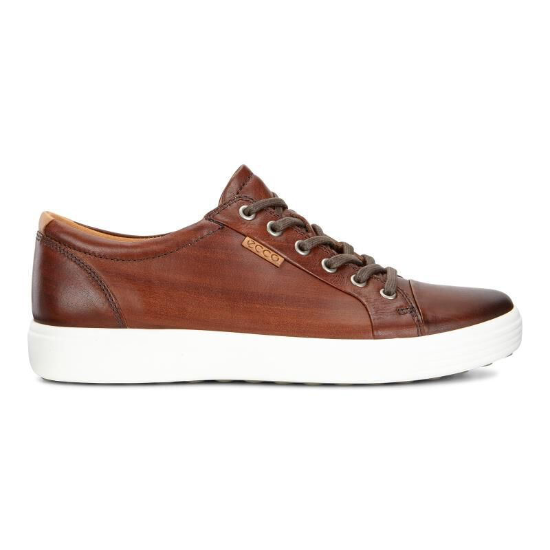 ecco mens brown shoes