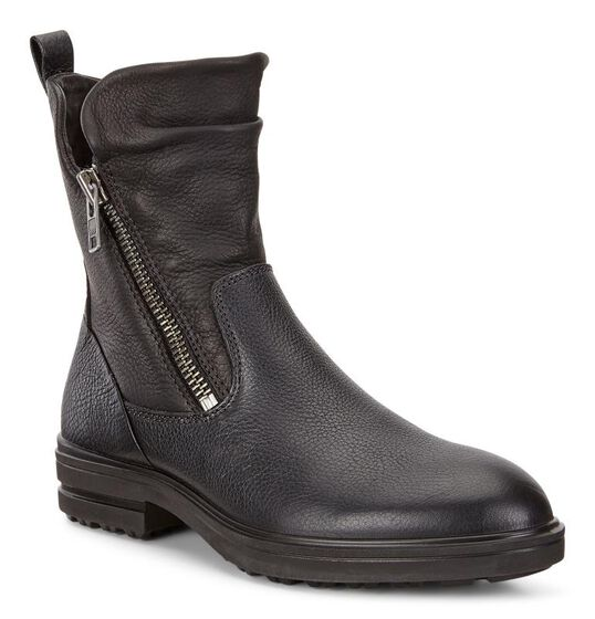 ECCO Zoe Ankle Boot (BLACK/BLACK)
