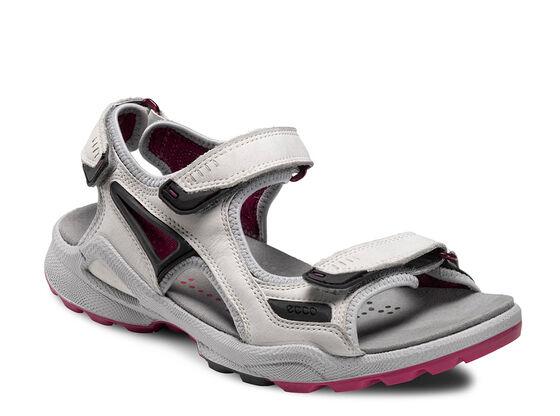 ECCO Womens Chiappo Sandal (SHADOW WHITE/FUCHSIA)