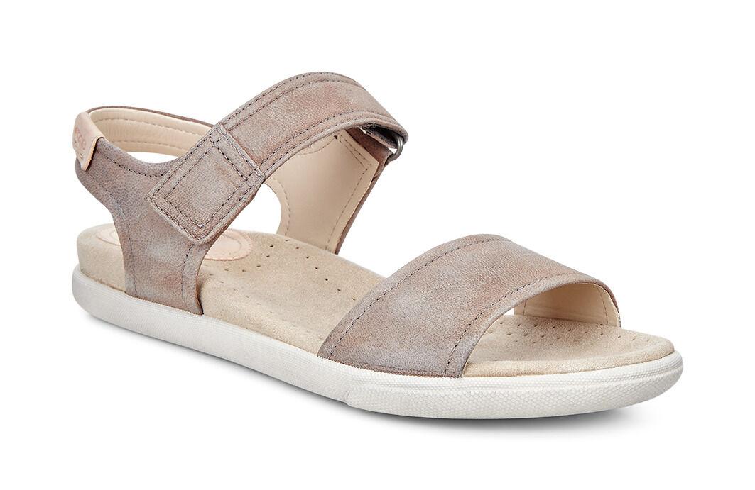 Womens Sandals ECCO Damara Strap Sandal Birch