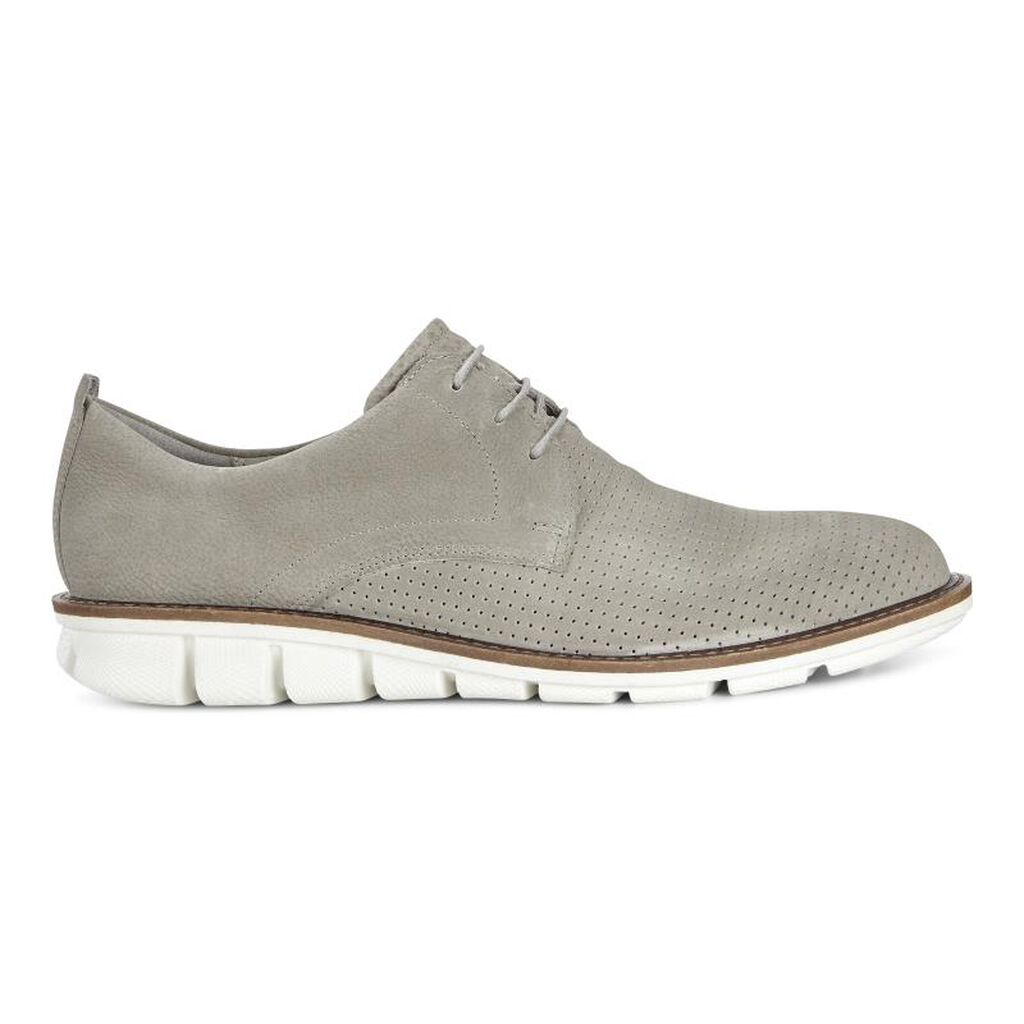 ECCO Jeremy Perforated Tie | Men's Shoes