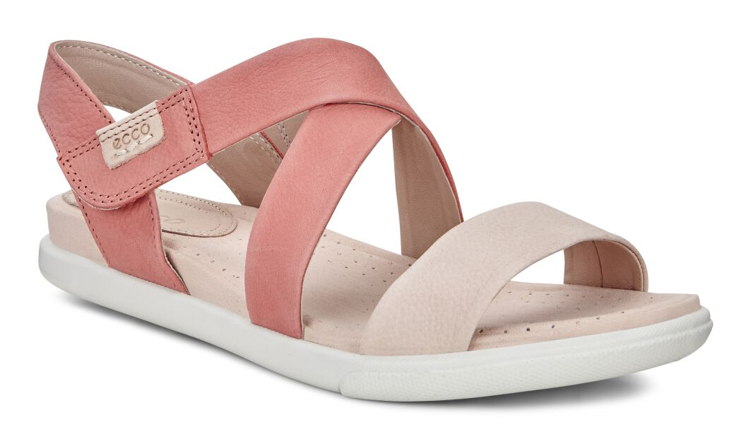 Damara Leather Criss Cross Sandals iwgfL6I3YP