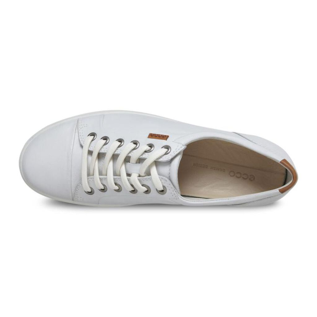 Ecco Womens Soft 7 Sneakerecco Sneaker In White 01007