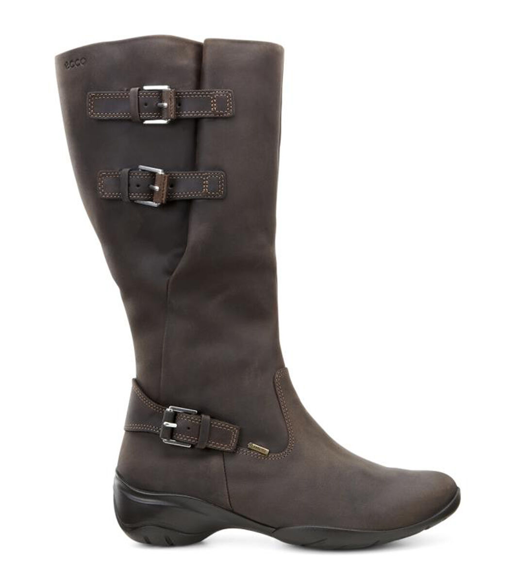 Womens Boots ECCO Rise Tall Boot Coffee
