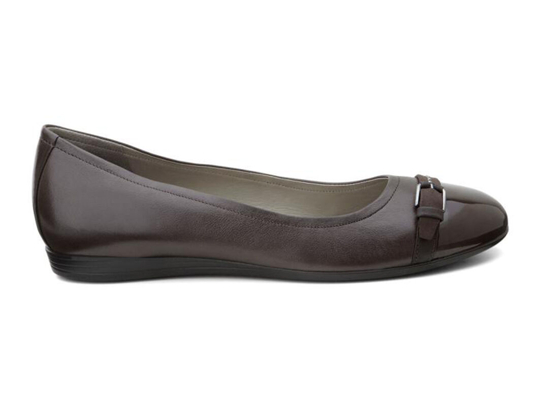 Womens Shoes ECCO Touch 15 Ballerina Coffee/Coffee
