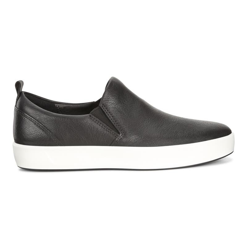 ecco SOFT - Slip-ons - black