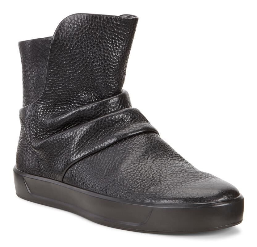 ECCO Womens Soft 8 Slouch BootECCO Womens Soft 8 Slouch Boot BLACK (01001)  ...