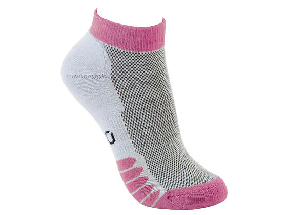 ECCO Womens Ankle Sock (PINK)