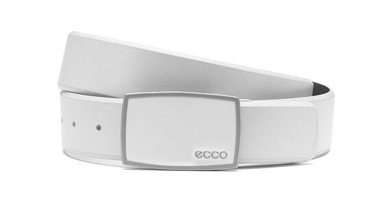 ECCO Golf Enamel Belt (OFFWHITE)