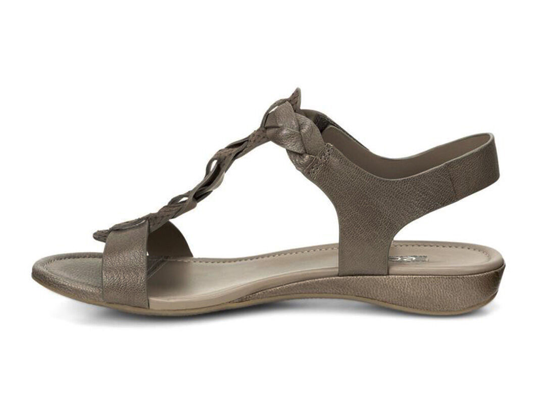 Womens Sandals ECCO Bouillon Knot Sandal II Olive/Olive
