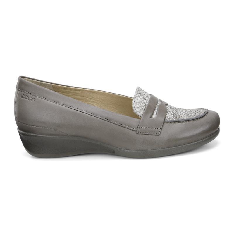 Womens Shoes ECCO Abelone Bit Warm Grey/Moon Rock
