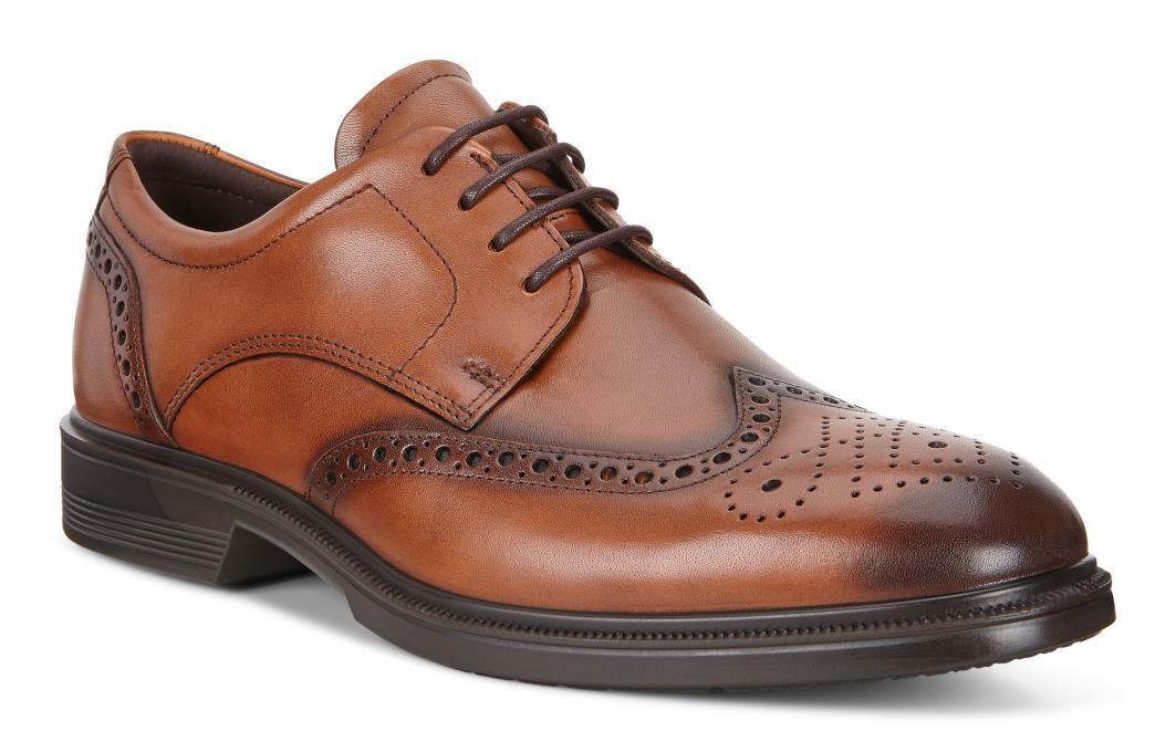 ECCO Lisbon Brogue Tie fashion shoes clearance  hot sale online