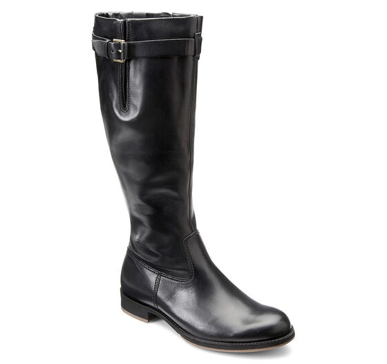 ECCO Saunter Tall Boot (BLACK)