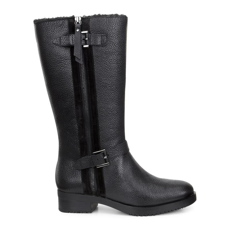 Womens Boots ECCO Alta Tall Boot Black/Black