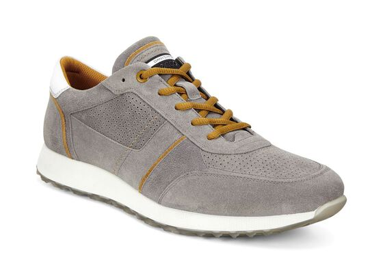 ECCO Mens Summer Sneak (WARM GREY/DRIED TOBACCO)