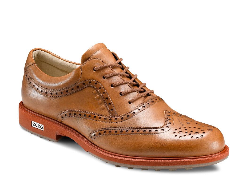 ECCO Men's Tour Hybrid Wingtip Golf Shoes