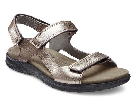 ECCO Babett Sport Sandal (WARM GREY METALLIC)