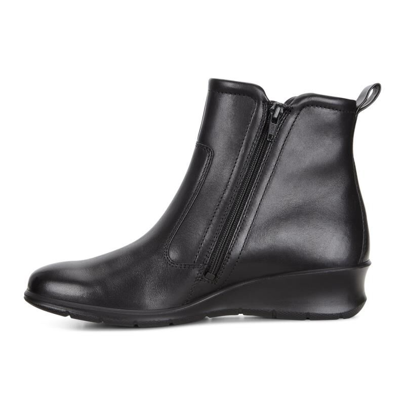 ecco black boots women
