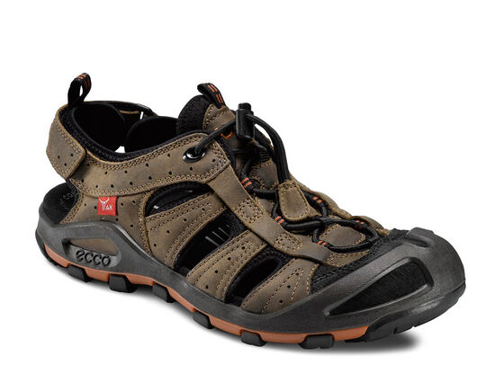 ECCO Mens Cerro (BLACK/NAVAJO BROWN)