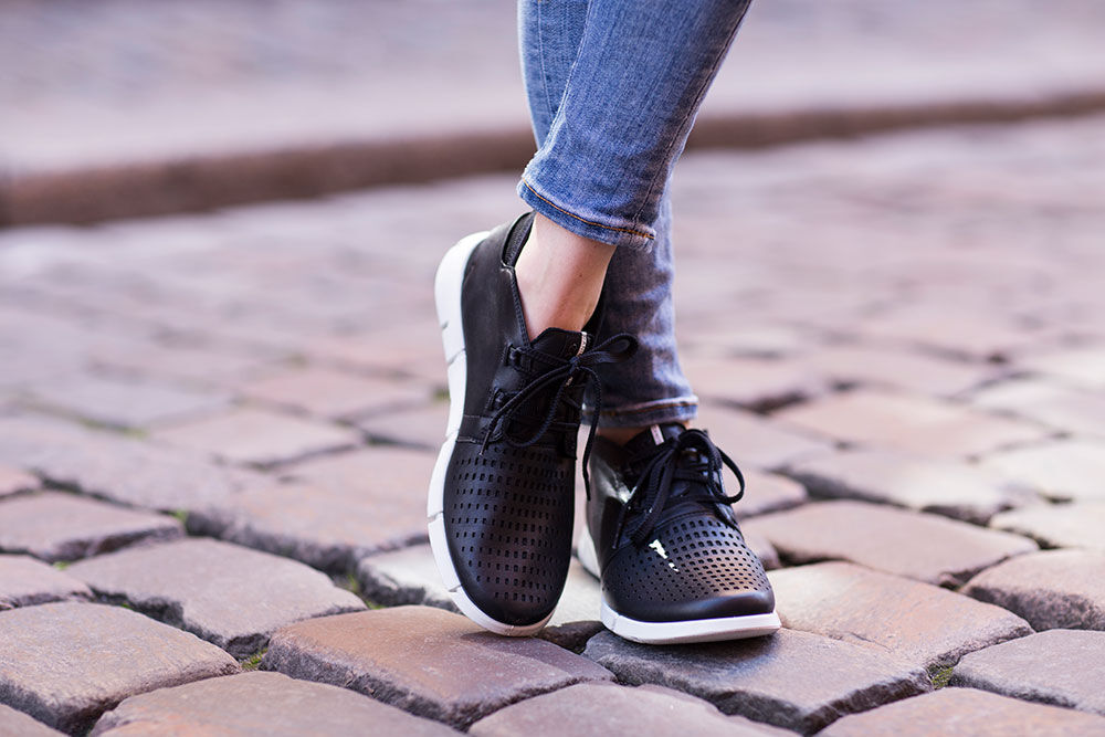 Womens Intrinsèque Chaussure De Mode 3, Ecco Noir