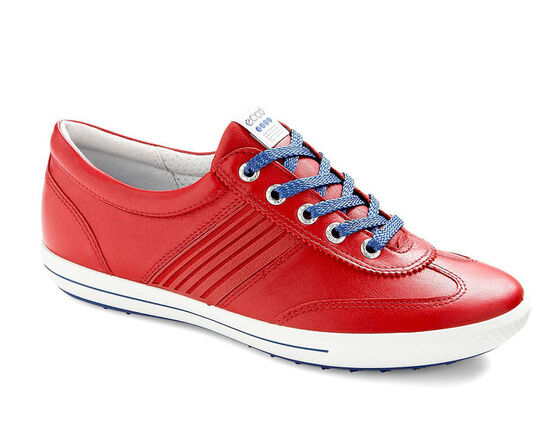 ECCO Womens Street Sport (CHILI RED/ROYAL)