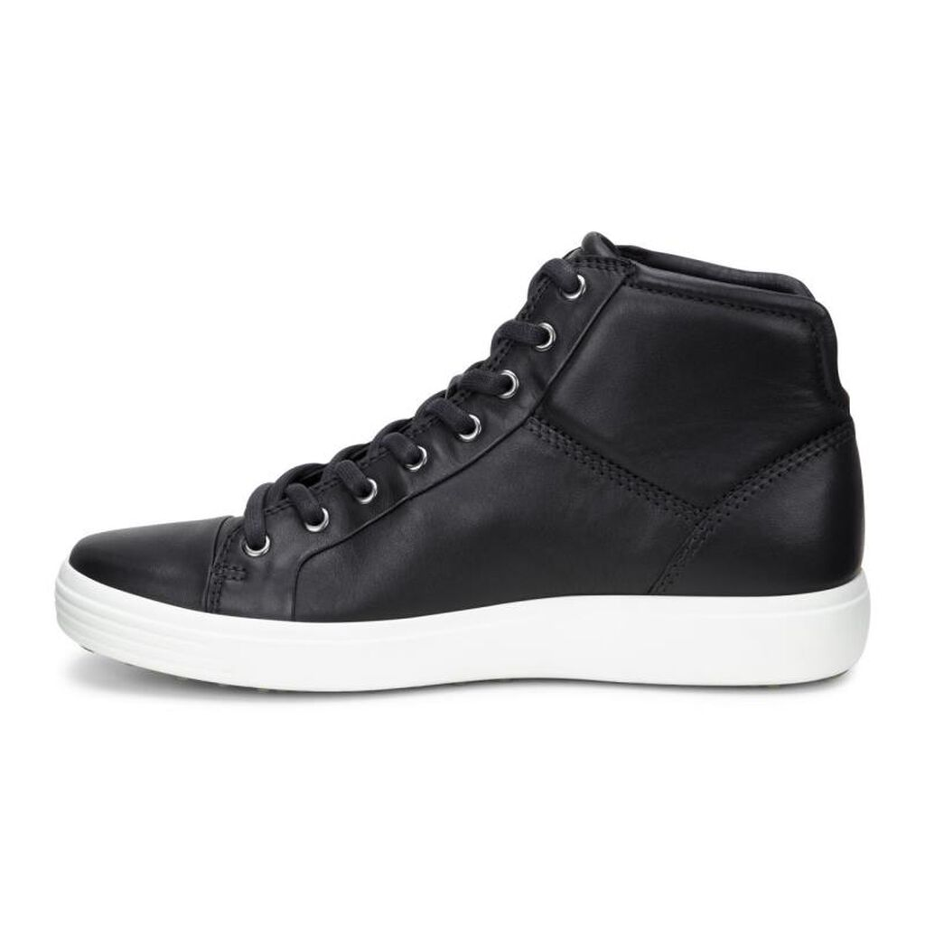 Ecco Mens Soft 7 High Top Men S Boots Ecco Shoes