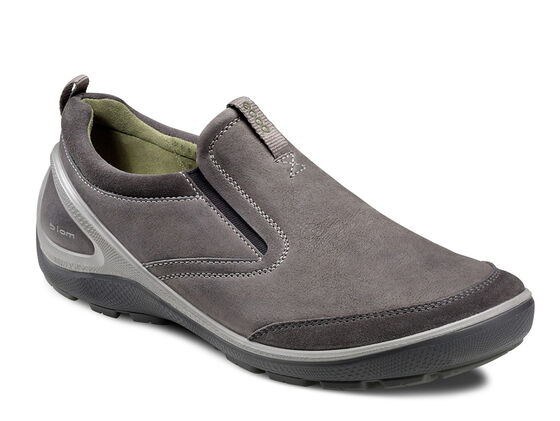 ECCO Mens Creek Slip On (DARK SHADOW/WARM GREY)