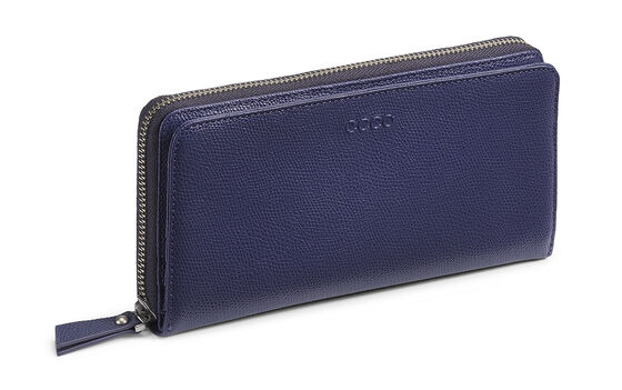 ECCO Belaga Large Zip Wallet (INDIGO)