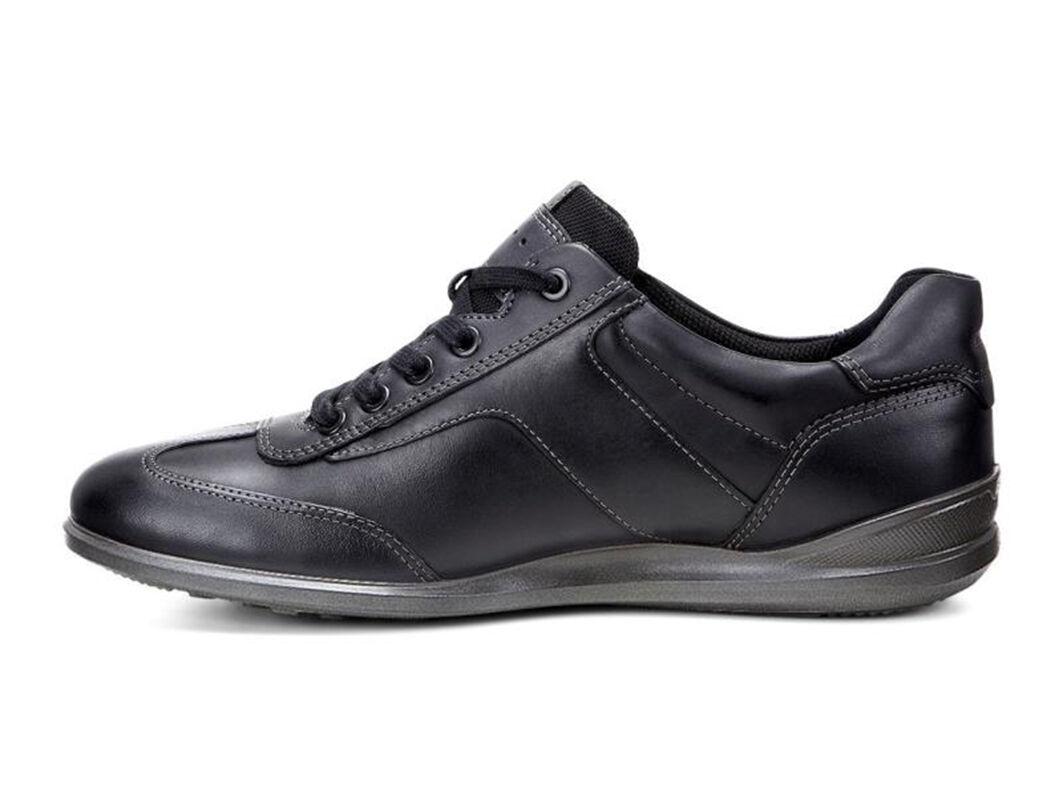 ... ECCO Chander Luxe SneakerECCO Chander Luxe Sneaker in BLACK/BLACK/DARK  SHADOW/COFFEE ...