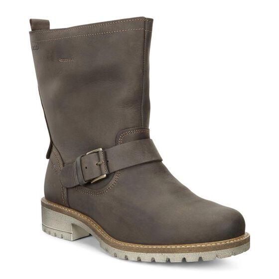 ECCO Elaine Buckle Boot (COFFEE)