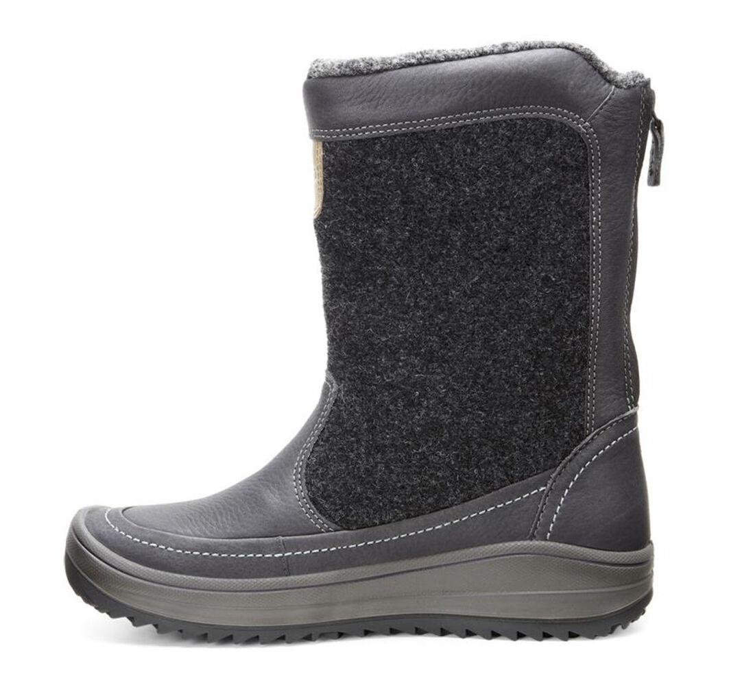 Womens Boots ECCO Sport Trace Zip Moonless/Moonless