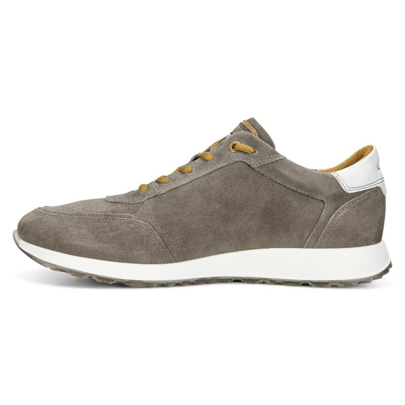 ... ECCO Mens Summer SneakECCO Mens Summer Sneak WARM GREY/DRIED TOBACCO  (50252) ...